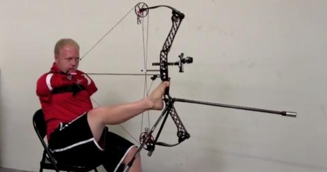 le meilleur archer du monde n a pas de bras le saviez vous. Black Bedroom Furniture Sets. Home Design Ideas